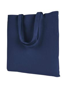 Navy Branson Bargain Canvas Tote