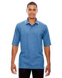Lake Blue 800 Edry® Men's Needle-Out Interlock Polo