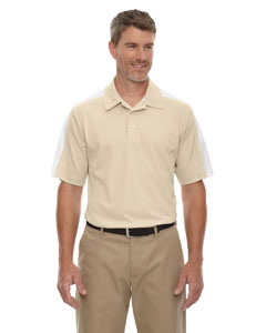 Sand 003 Eperformance™ Men's Piqué Colorblock Polo