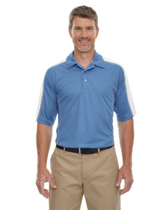Lake Blue 800 Eperformance™ Men's Piqué Colorblock Polo