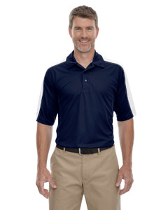 Classic Navy 849 Eperformance™ Men's Piqué Colorblock Polo