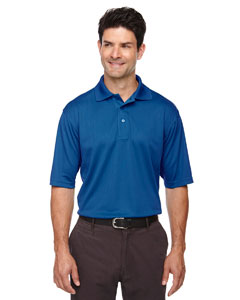 Monarch Blue 609 Eperformance™ Men's Jacquard Piqué Polo
