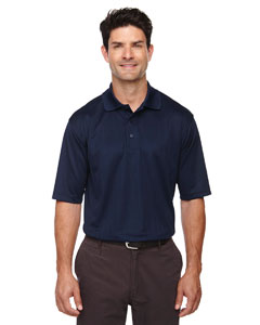 Classic Navy 849 Eperformance™ Men's Jacquard Piqué Polo