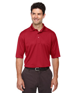 Classic Red 850 Eperformance™ Men's Jacquard Piqué Polo