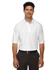 White 701 Eperformance™ Men's Ottoman Textured Polo