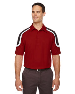 Classic Red 850 Edry® Men's Colorblock Polo