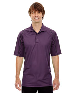 Mulbry Purpl 449 Eperformance™ Men's Velocity Snag Protection Colorblock Polo with Piping