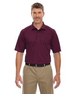 Burgundy 060 Eperformance™ Men's Shield Snag Protection Short-Sleeve Polo