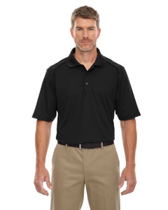 Black 703 Eperformance™ Men's Tall Shield Snag Protection Short-Sleeve Polo