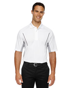 White 701 Eperformance™ Men's Parallel Snag Protection Polo with Piping