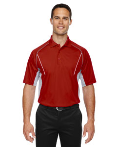 Classic Red 850 Eperformance™ Men's Parallel Snag Protection Polo with Piping