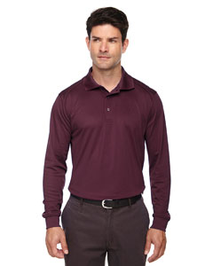 Burgundy 060 Eperformance™ Men's Armour Snag Protection Long-Sleeve Polo