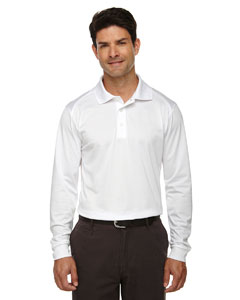White 701 Eperformance™ Men's Armour Snag Protection Long-Sleeve Polo