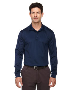 Classic Navy 849 Eperformance™ Men's Armour Snag Protection Long-Sleeve Polo