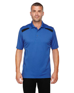 Nauticl Blue 413 Eperformance™ Men's Tempo Recycled Polyester Performance Textured Polo