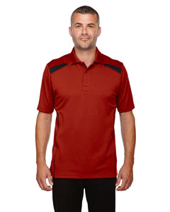 Classic Red 850 Eperformance™ Men's Tempo Recycled Polyester Performance Textured Polo