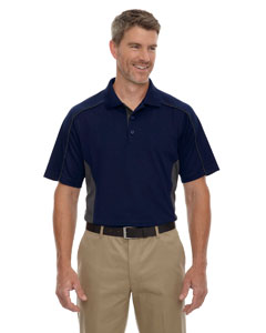 Classic Navy 849 Eperformance™ Men's Fuse Snag Protection Plus Colorblock Polo