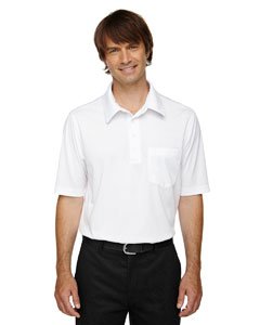 White 701 Eperformance™ Men's Shift Snag Protection Plus Polo
