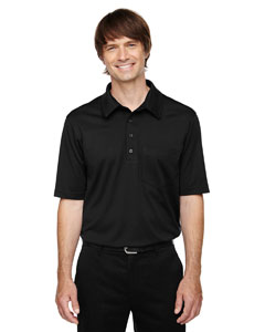 Black 703 Eperformance™ Men's Shift Snag Protection Plus Polo
