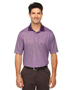 Mulbry Purpl 449 Eperformance™ Men's Launch Snag Protection Striped Polo