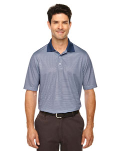 Classic Navy 849 Eperformance™ Men's Launch Snag Protection Striped Polo