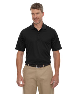 Black 703 Eperformance™ Men's Stride Jacquard Polo