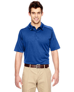 Nauticl Blue 413 Eperformance™ Men's Fluid Mélange Polo