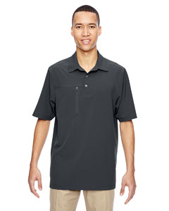 Graphite 156 Men's Excursion Crosscheck Performance Woven Polo