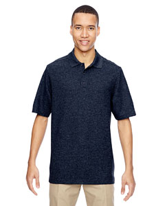 Navy 007 Men's Excursion Nomad Performance Waffle Polo