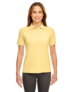 Yellow Ladies' Classic Piqué Polo