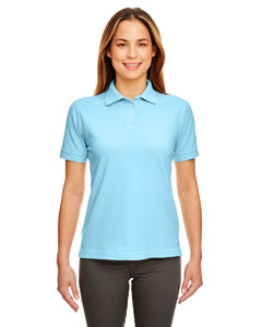 Baby Blue Ladies' Classic Piqué Polo