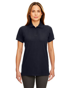 Black Ladies' Classic Piqué Polo