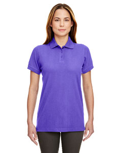Purple Ladies' Classic Piqué Polo