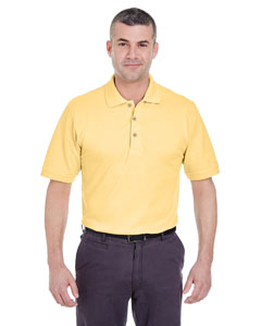 Yellow Men's Classic Piqué Polo