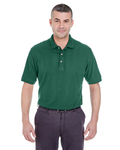 Forest Green Men's Classic Piqué Polo