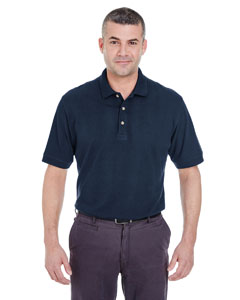 Navy Men's Classic Piqué Polo