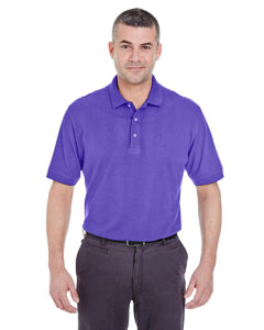 Purple Men's Classic Piqué Polo