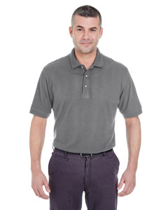 Graphite Men's Classic Piqué Polo