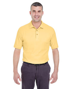 Yellow Men's Whisper Piqué Polo