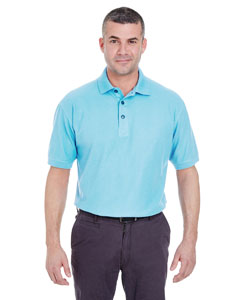 Baby Blue Men's Whisper Piqué Polo