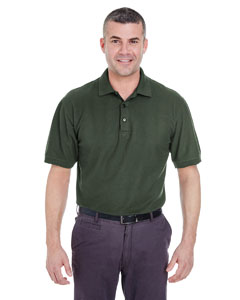 Forest Green Men's Whisper Piqué Polo