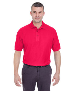 Red Men's Whisper Piqué Polo