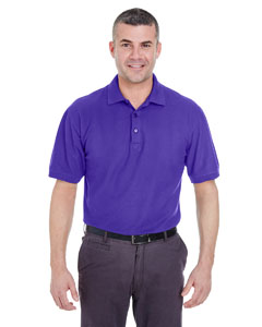 Purple Men's Whisper Piqué Polo