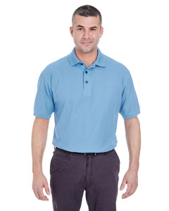 Cornflower Men's Whisper Piqué Polo