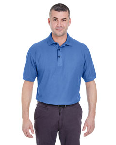 French Blue Men's Whisper Piqué Polo