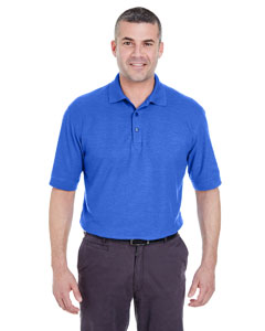 Royal Heather Men's Whisper Piqué Polo