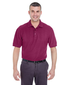Wine Men's Whisper Piqué Polo