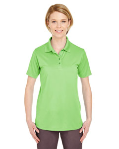 Light Green Ladies' Cool & Dry 8 Star Elite Performance Interlock Polo