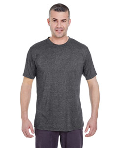 Black Heather Men's Cool & Dry Heather Performance Tee