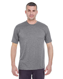Charcoal Heather Men's Cool & Dry Heather Performance Tee